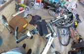 Support pour un vélo de téléphone