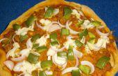 Blé entier Veggie Pizza fromage Cottage