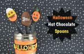 Cuillères de chocolat chaud Halloween