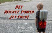 Enfants Super Sci-Fi fusée alimenté Jet Pack fait pour quelques centimes !