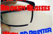 Réparer les lunettes cassées avec imprimante 3D - HowTo