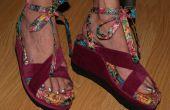 Flip Flop Wedge guéri chaussures