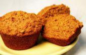 « Stealth Health » Muffins citrouilles (sans oeufs, avec une version végétalienne, trop!)
