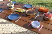 Rénové en plein air Table