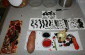 Comment faire pour peinture avec légumes