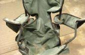 Réutiliser une vieille chaise pliant