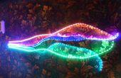 RGB LED de conduite se dénude un Arduino