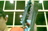 Un sarated déchirure couteau/arme que j'ai fait