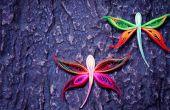 Comment faire une libellule à l'aide de papier d'Art Quilling