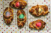 Comment : paniers de Pâques oeuf pain