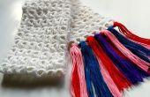 Manche à balai bricolage Crochet écharpe
