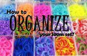 Comment organiser votre jeu de métier à tisser ?