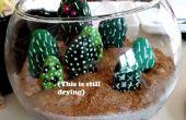 Rock cactus Terrarium