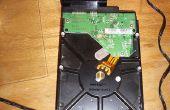 SATA à l'adapteur d'USB à l'aide du câble de transfert de données Xbox