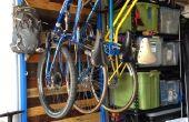 Pendaison de crémaillère à vélo