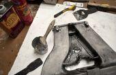 Enlever enduit de poudre d'aluminium