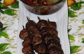 Haché de bœuf Satay (Sate Pentul)