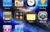 Comment pour des thèmes installer sur jailbreaké un iPhone ou un iPod Touch