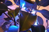 Compteur Geiger déclenchée décorations LED