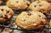 Gluten Free Bittersweet chocolat noix de Macadamia Cookies