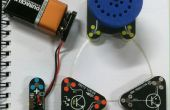 Circuit de Scribe lumière contrôlée moteur