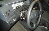 Toyota Corolla 2007 dash dépose tableau de bord radio console serpent