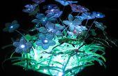 Fibre optique et LED Eclairage de jardin miniature