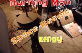 Construction d'une effigie de Burning Man - Space Needle Edition