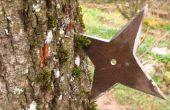 FAIRE un SHURIKEN (étoile de NINJA jeter)