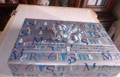 Comment faire pour cadeau emballage cadeaux avec pleates !