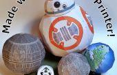 Globes, boules et Robots d'une imprimante de bureau !