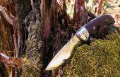 BRICOLAGE couteau avec bouton de verrouillage pliant