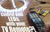 Contrôler vos LEDs avec votre télécommande de la TV? ! || Arduino IR tutoriel