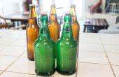 Bière de gingembre fait maison avec de la levure sauvage