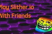 Jeu Slither.io avec des amis