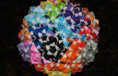 Origami modulaire : Polyèdres de Sonobe