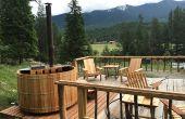 BRICOLAGE bois tiré Cedar Hot Tub