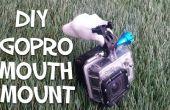Comment faire un montage GoPro bouche