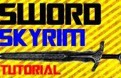 Comment faire une épée dans la vie réelle Skyrim