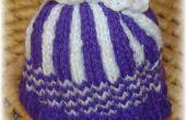 Comment tricoter un coquetiers « bon » pour un Faberge oeuf !