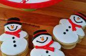 Boule de neige caca bonhommes de neige biscuits au sucre
