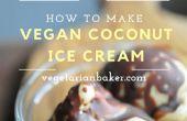 Crème de glace coco végétalien   Recette banane-gratuit