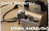 Couvrir n'importe quel tatouage... à l'aérographe !