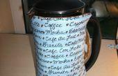Comment faire un confortable de café matelassé réversible