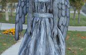 Costume ange ou une statue de pleurs