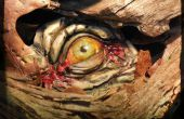 Eyeball comestible réaliste