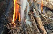 Comment allumer un feu avec un silex de magnésium