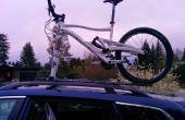 Porte-vélos sur le toit