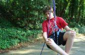 Comment grimper sur un arbre (en utilisant la seule corde!) la façon d'amuser/simple