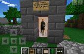 Comment faire un garde du corps dans minecraft !